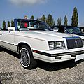 Chrysler bankston le baron convertible-1985