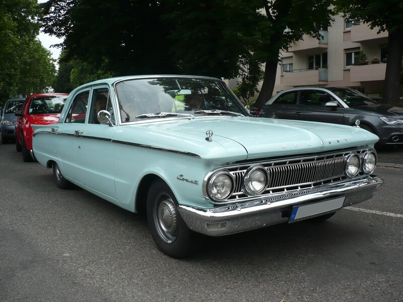 MERCURY Comet 4door Sedan 1962 Illzach (1)