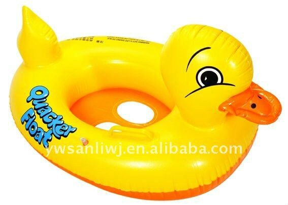 2014_Good_Quality_Pvc_Inflatable_Duck_Swim