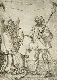 Foulques Nerra devant le Pape Urbain II