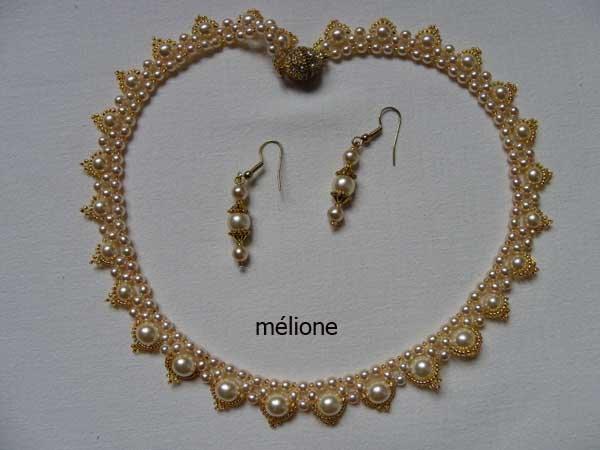 collier de nacrées swaroski