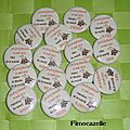 badges mariage julie & jerome