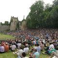 2009, la foule aux highland games de Bressuire