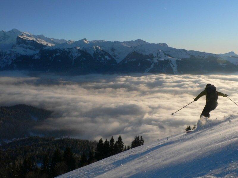 Ski dans le Haut Giffre