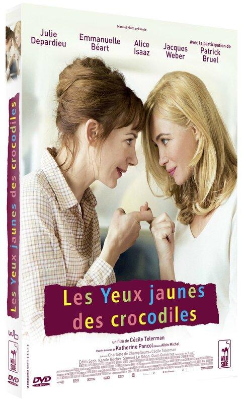 LES YEUX JAUNES DES CROCODILES_DVD
