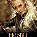 The Hobbit Desolation of Smaug Thranduil poster