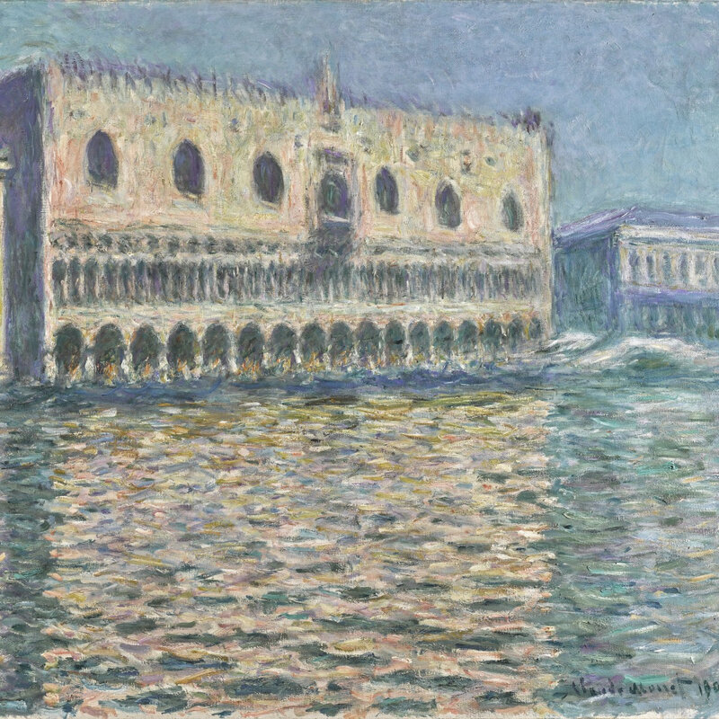 claude monet le palais ducal