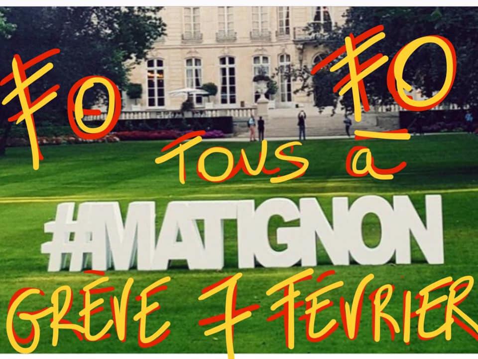 En allant à Matignon demander du pognon , la vidéo .