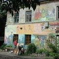 A Uzupis, un quartier de Vilnius, l'Art est dans la rue