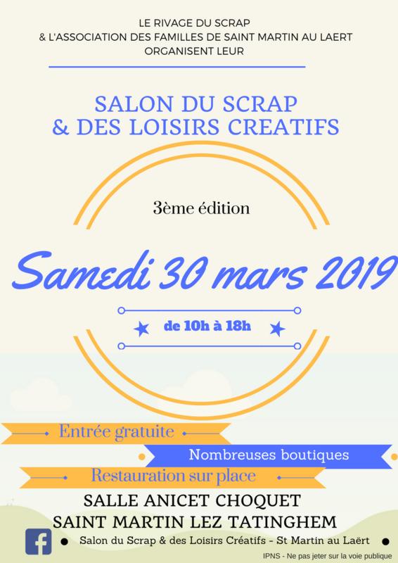 Affiche Salon 2019 St Martin lez Tatinghem