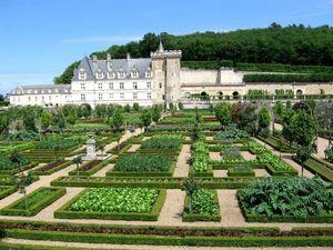 Jardins et Chateau de Villandry