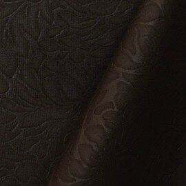 neoprene-jacquard-marron