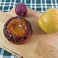 Gâteau renversé abricot caramel