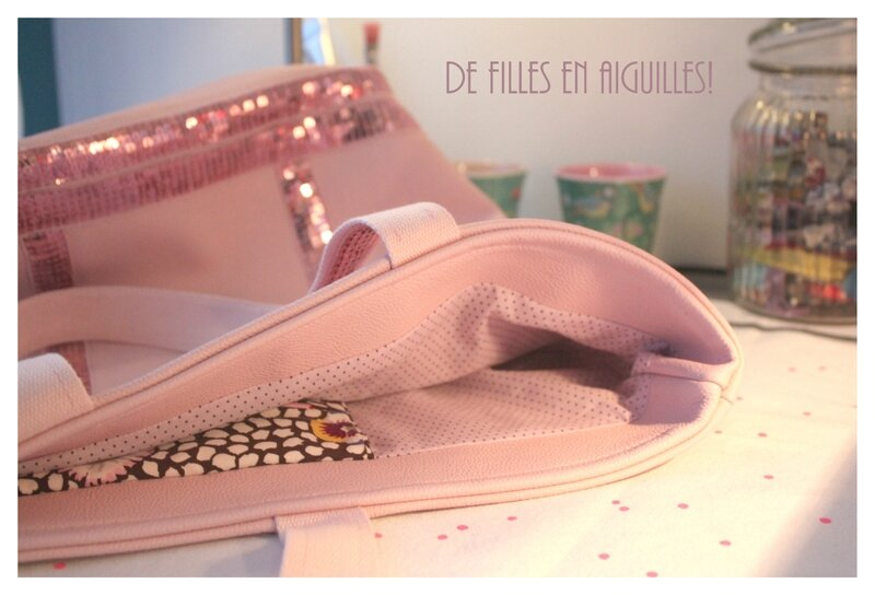 Du rose et des paillettes, so girly!