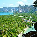 Railay Beach - Point de vue