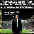 défaite de la france au tournoi des 6 nations. a qui la faute ?