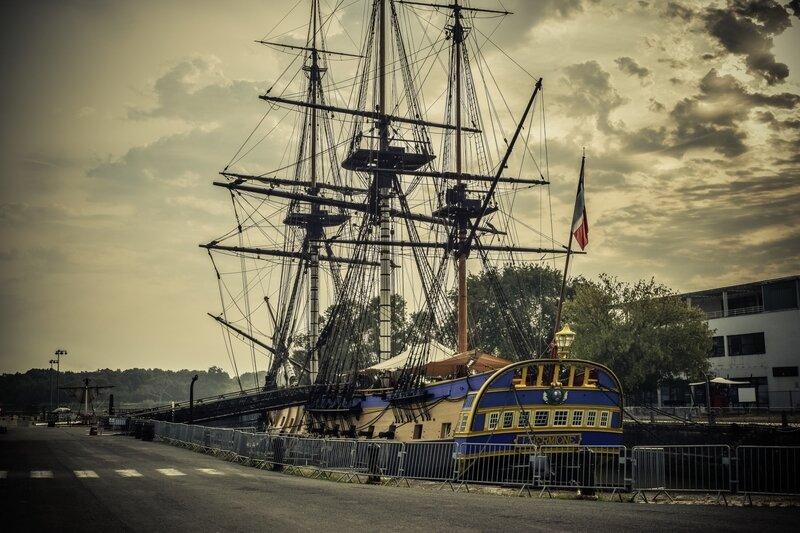La Queen Anne's Revenge est-elle La Concorde, Le navire français capturé par le pirate Blackbeard (2)