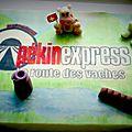 Gâteau thème pekin express