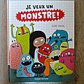 Selection littérature jeunesse mai 2016 : monstres, anniversaire et déménagement ...