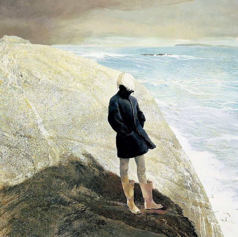Andrew Wyeth On-The-Edge-