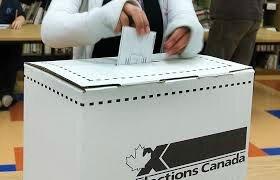 urne élection Canada