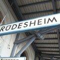 Arrivée à Rudesheim
