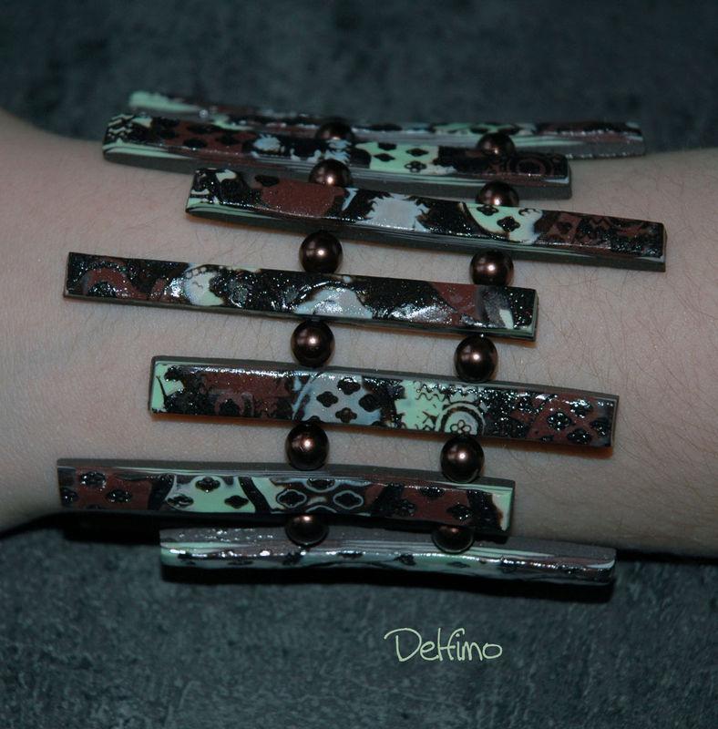 Bracelet Xylo porté