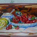 Corbeille de Fruits (acrylique)