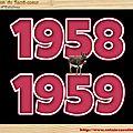 .CLASSE en : 1958 / 59