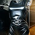 Body shorty Latex 240d Noir