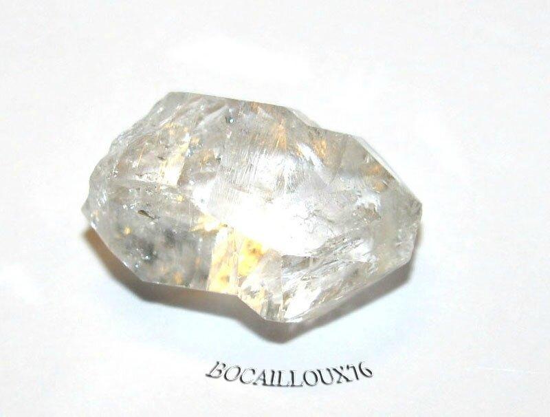 QUARTZ Diamant d'Herkimer 5 Naturel