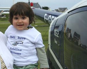 Merci à Isabelle et Jacques Duval pour mon joli T-shirt d'Hôtesse d'Héli Rêve