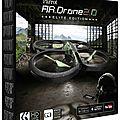 Drone - ar.drone 2.0 - couleur jungle - elite edition - parrot