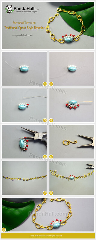 6-PandaHall-Tutorial-on-Traditional-Opera-Style-Bracelet