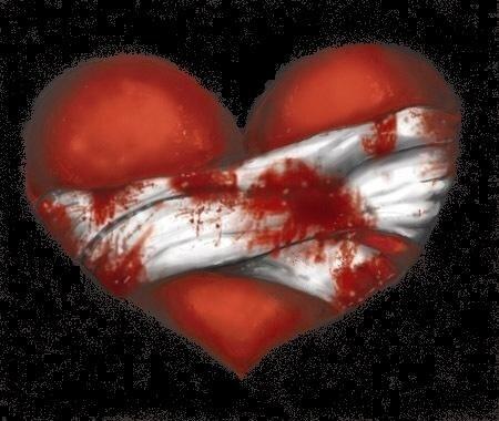 Quand le cœur saigne...
