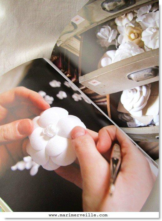 métiers d'art de la mode - le papurier floral - marimerveille