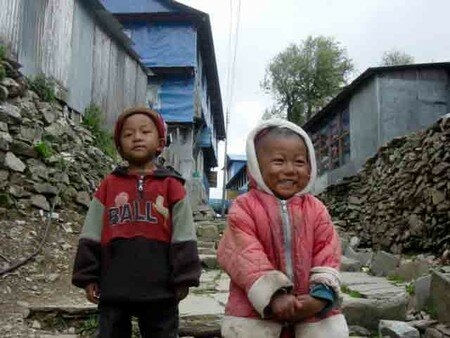 Children_at_Ghorepani