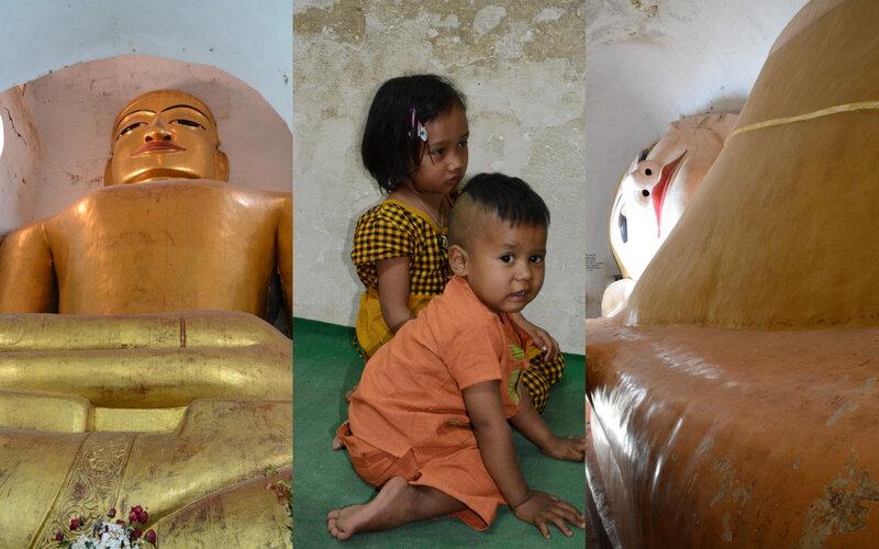 Bouddhas et enfants