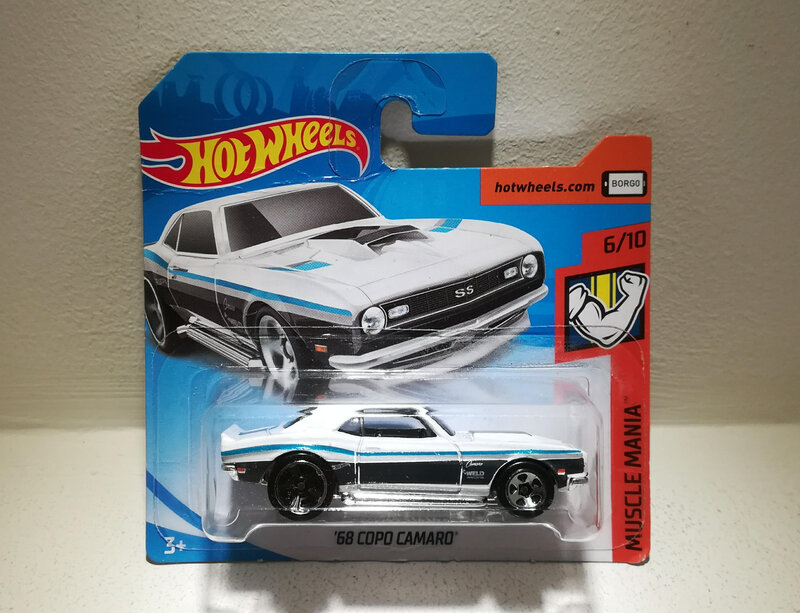 Chevrolet Camaro Copo de 1968 (Hotwheels)