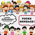Eurovision junior 2020 : votre sondage - résultat !
