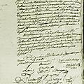 Le 22 janvier 1790 à mamers : distribution de bois et de pains aux pauvres.