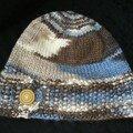 Bonnet tiré de Robin's blue egg hat
