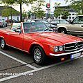 Mercedes 450 SL de 1980 version US (Rencard burger King aout 2011) 01