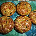 La recette du dimanche:o): muffins courgette, poivron......