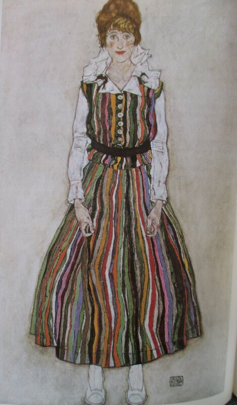 Edith Harms 1915 Schiele