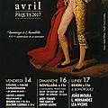 Arles - feria de paques 2017 - sous le signe de manolete