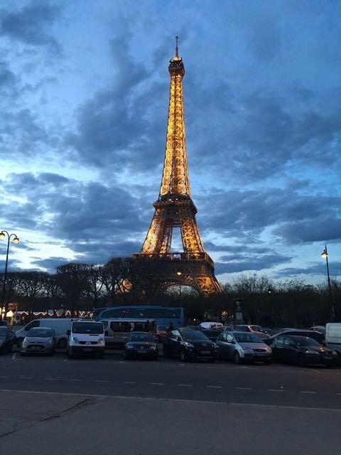 tour Eiffel nuit