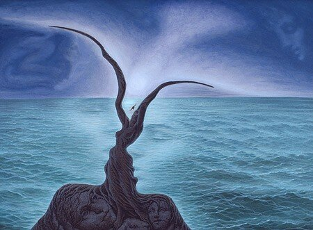 kiss_of_the_sea_Octavio_Ocampo