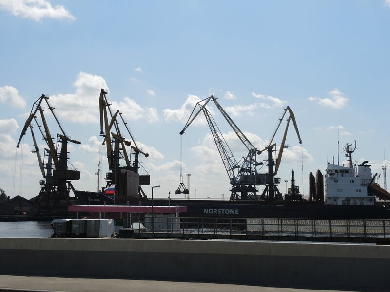 Kaliningrad, le port (Russie)