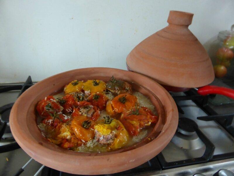 20-tomates farcies tajine